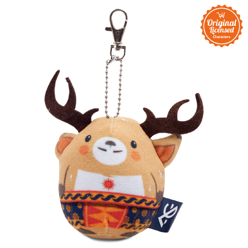 Asian Games 2018 Keychain Egg Doll Atung  3 Inch