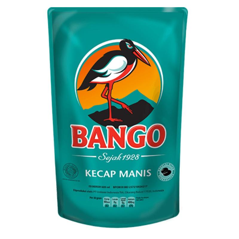 Bango Kecap Manis Reffil Pouch 600 ml