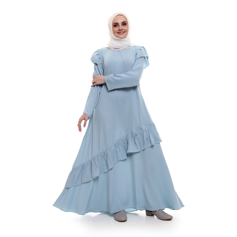 ALLEV Zalfa Dress BiruMint