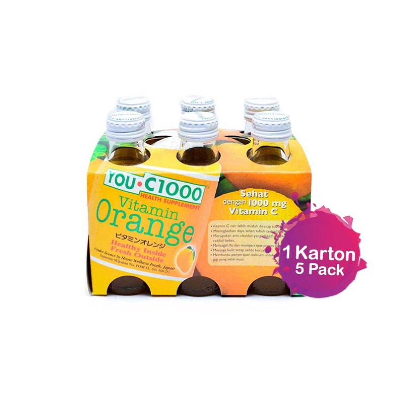 You C 1000 Orange 140Ml - 6 Bottles