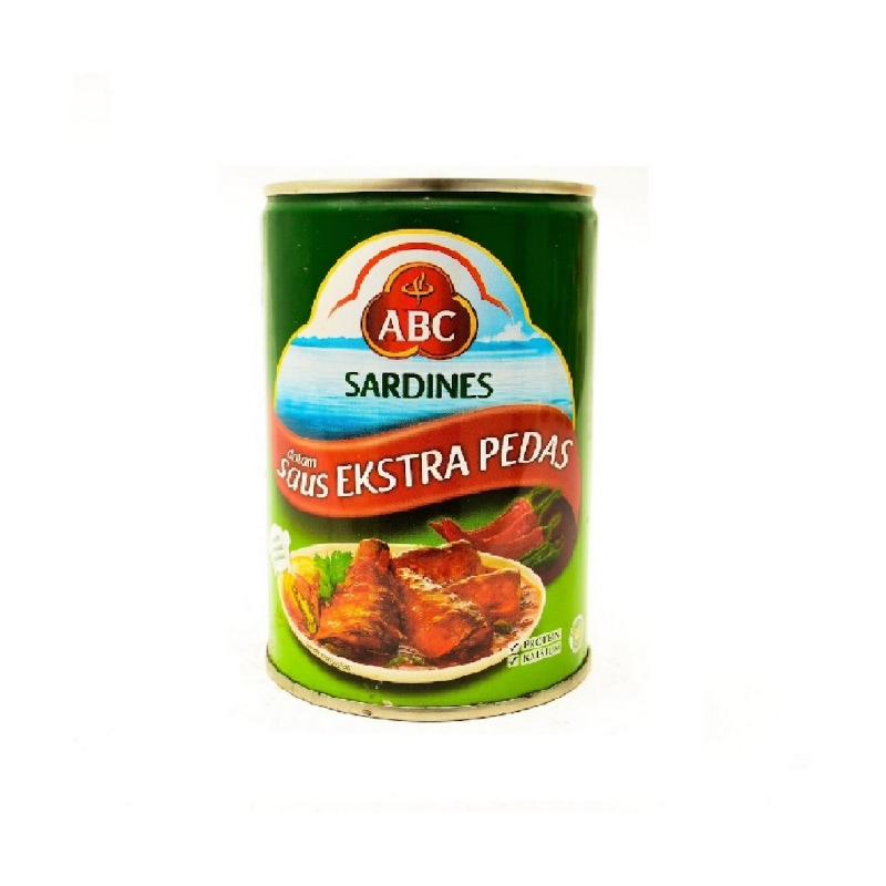 Abc Sardine Extra Hot 155 Gram