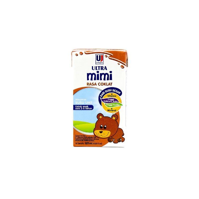 Ultrajaya UHT Ultra Mimi Choco X-Tra Cal 125Ml