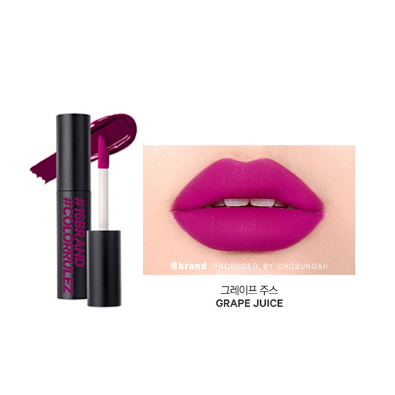 16brand Sixteen Colorrulez Velvet Lip - Grape Juice