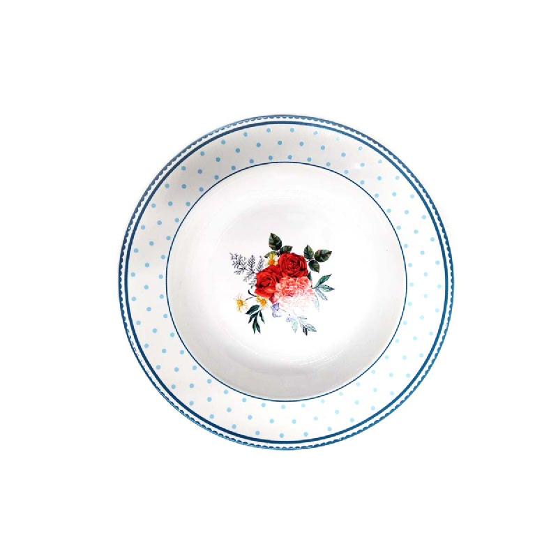 Lotte Mart Piring Sup Corak Red Rose