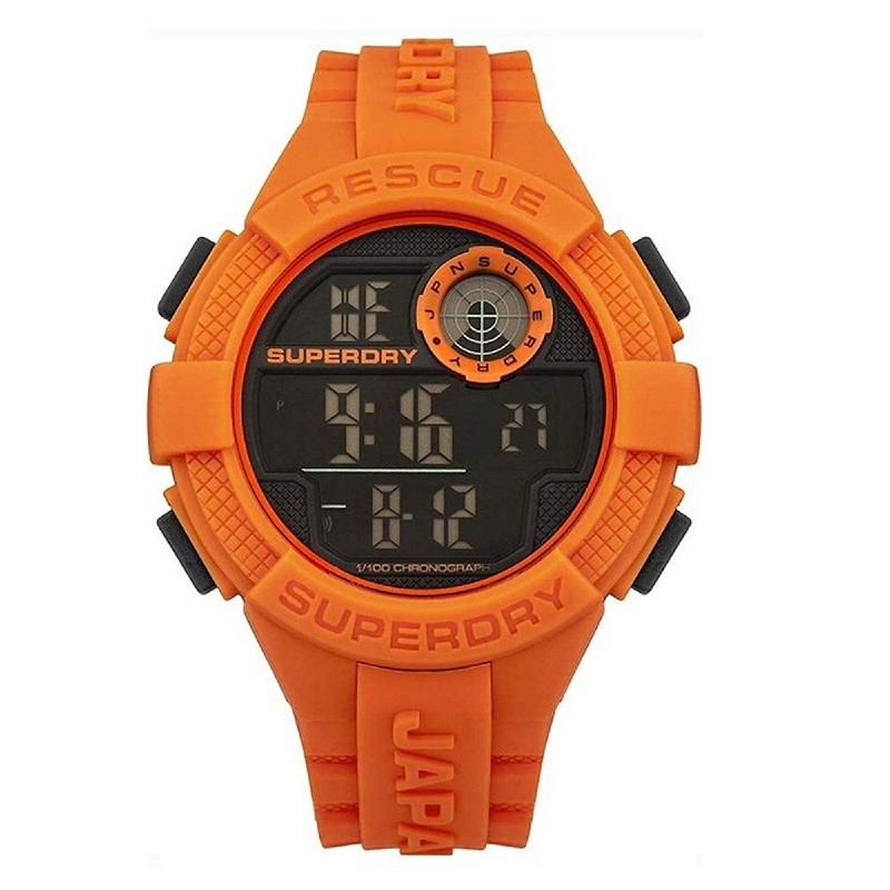Superdry Men Watch Radar Digital SYG193O Orange