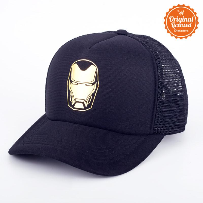 Avengers Trucker Cap Infinity War Iron Man Gold