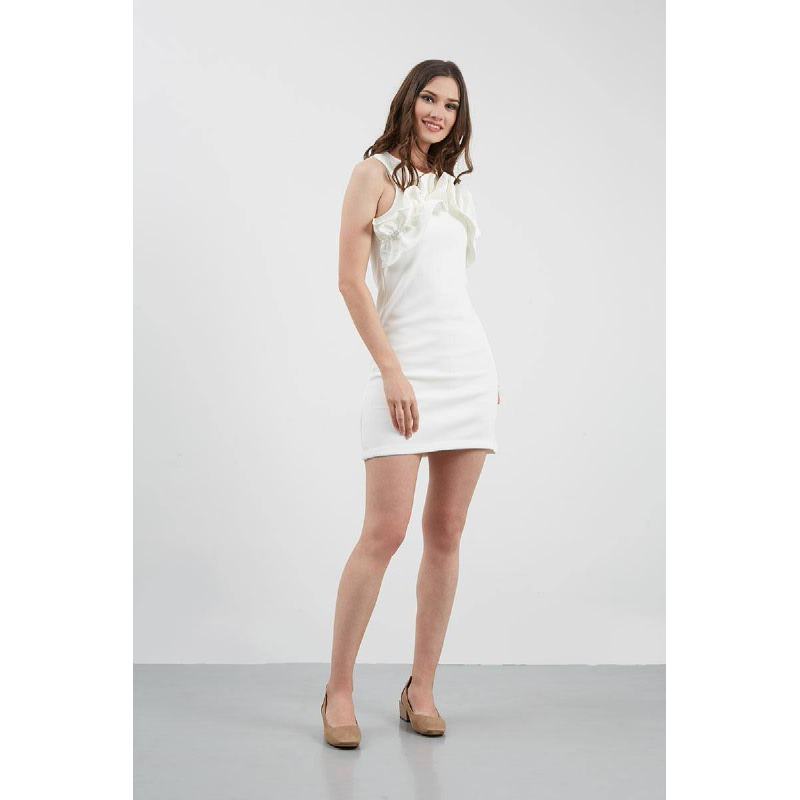 GW Grimma Dress in White
