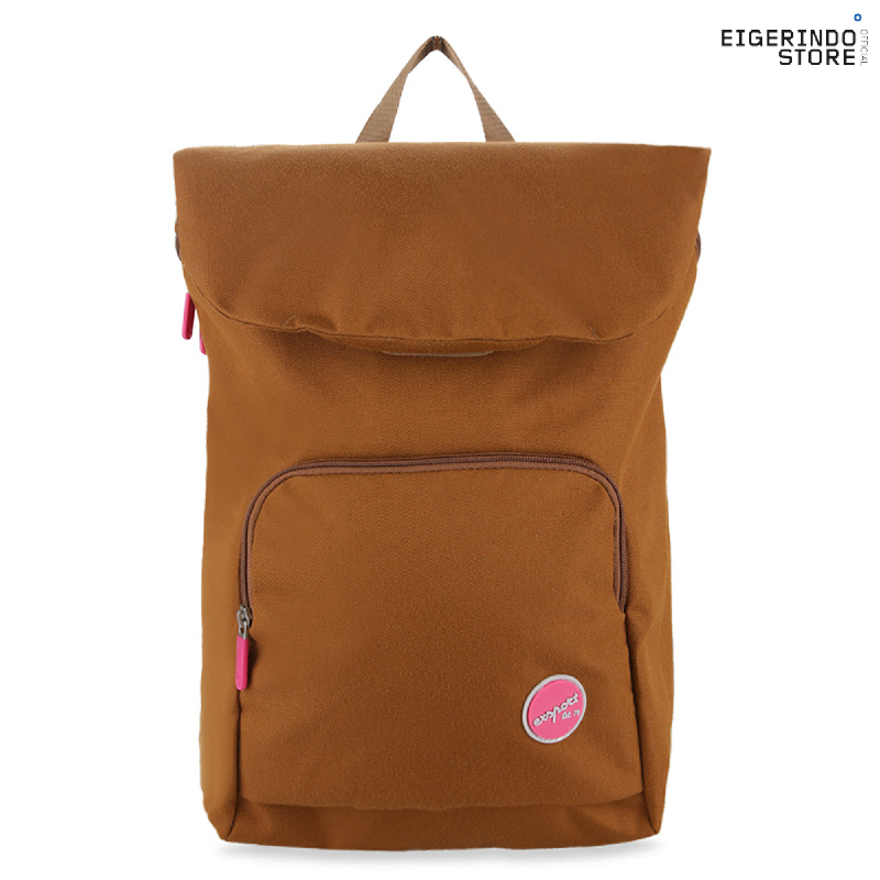 Exsport Polina Laptop Backpack - Brown