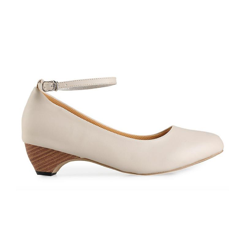 Alivelovearts Pump Heels Cream