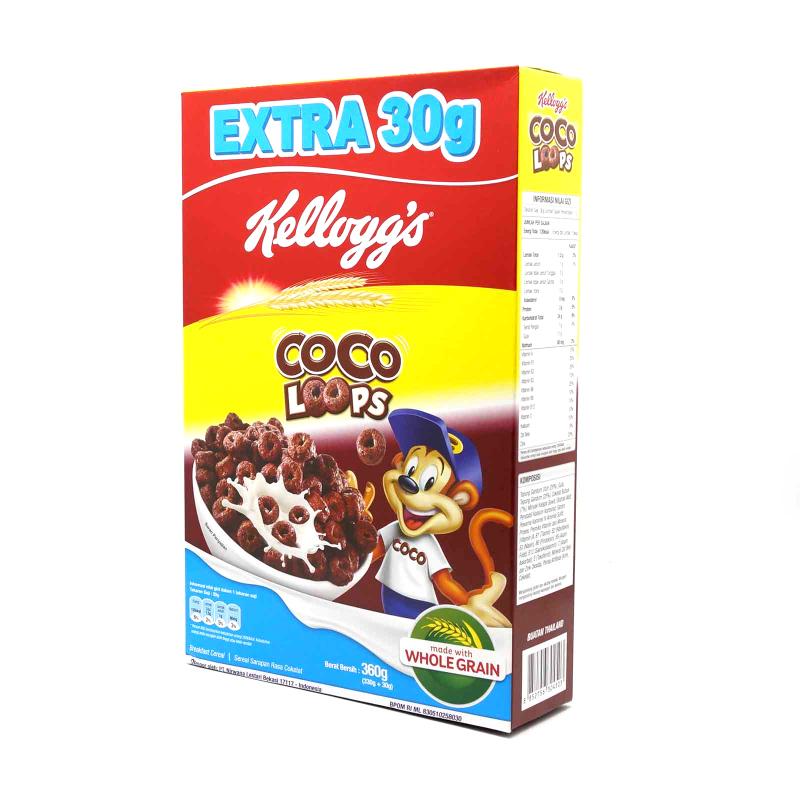 KELLOGS COCO LOOPS 330G
