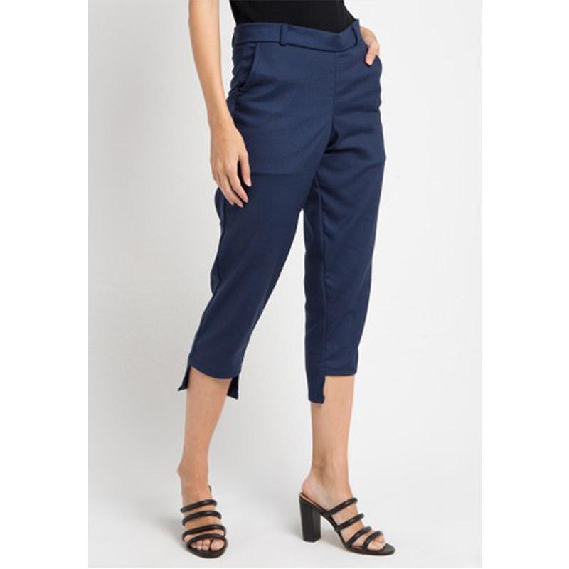 Magnificents Ladies Symetric Trousers Pants Navy