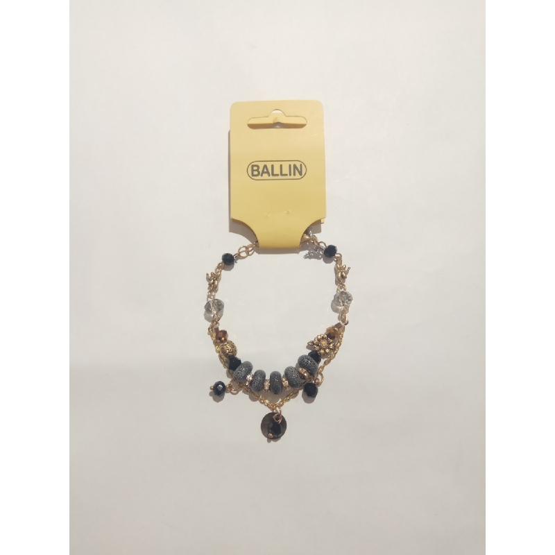 Ballin - Women Bracelet ZB B002 Mix Colour Silver