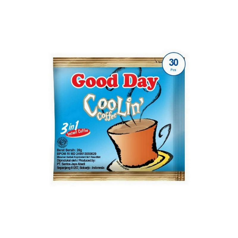 Good Day Kopi Coolin Bag 30X20G