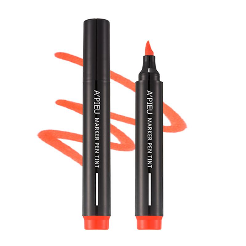 Apieu Market Pen Tint - CR03 Love Me Coral