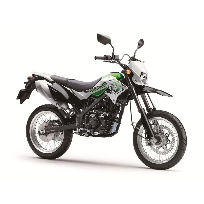 Kawasaki Dtracker 150 Sepeda Motor - Hijau (Bogor) (VIN 2017)