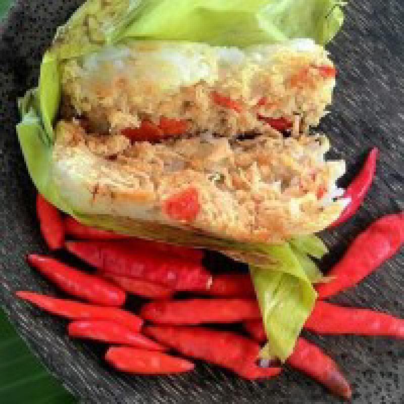 Lemper Kepiting Rica Rica (Isi 10)