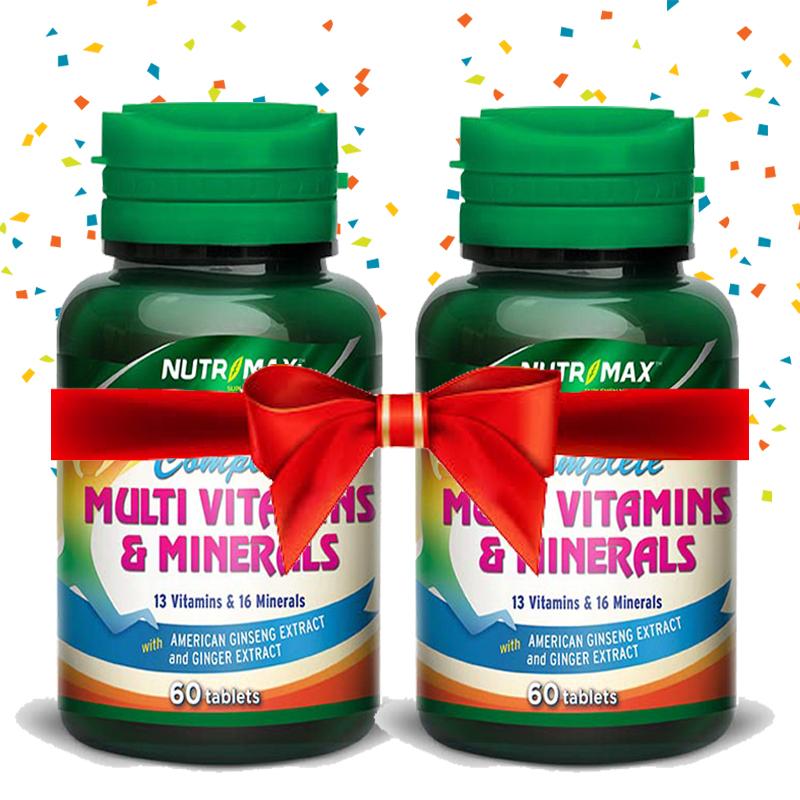 Buy 2 Bottle Nutrimax Complete Multivitamins & Minerals 60 Tablet