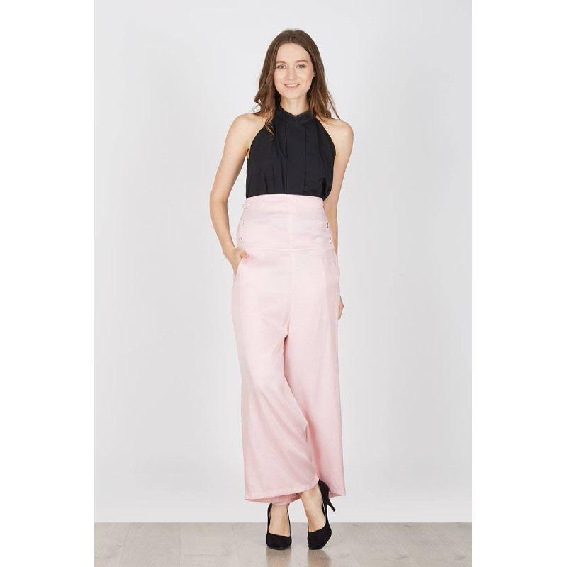 Hedra High Waist Pink Pants