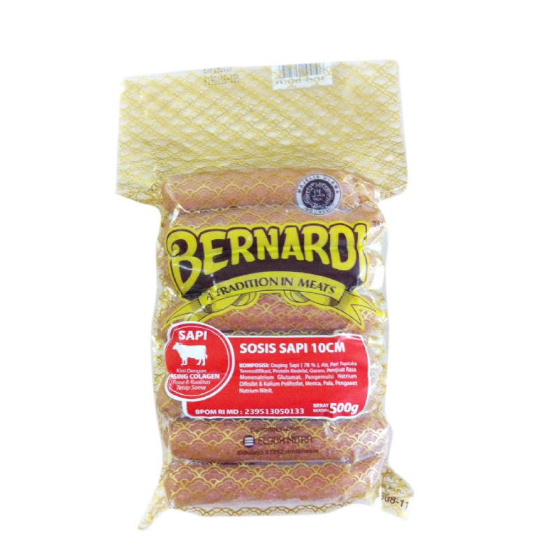 Bernardi Sosis Sapi 500 gr