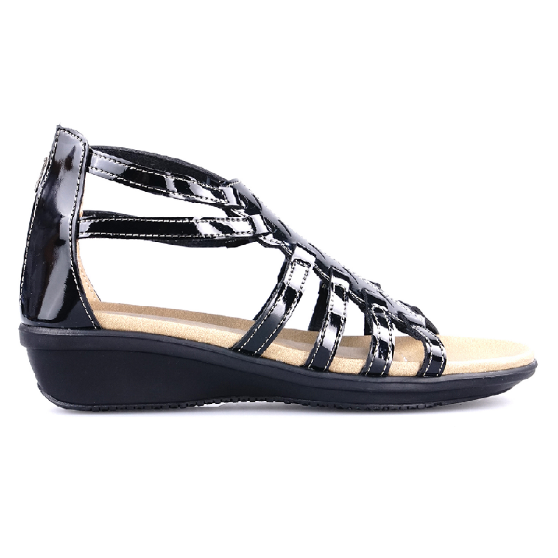 Ghirardelli Sandals Cicely Black