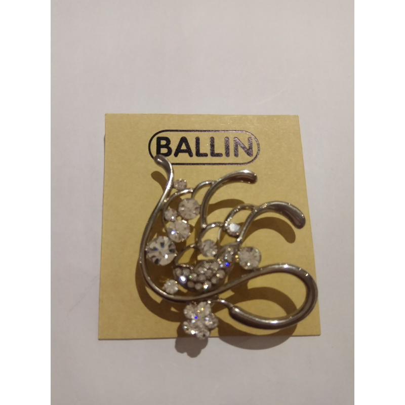 Ballin Women Brooch CB-BR29-083325 Silver