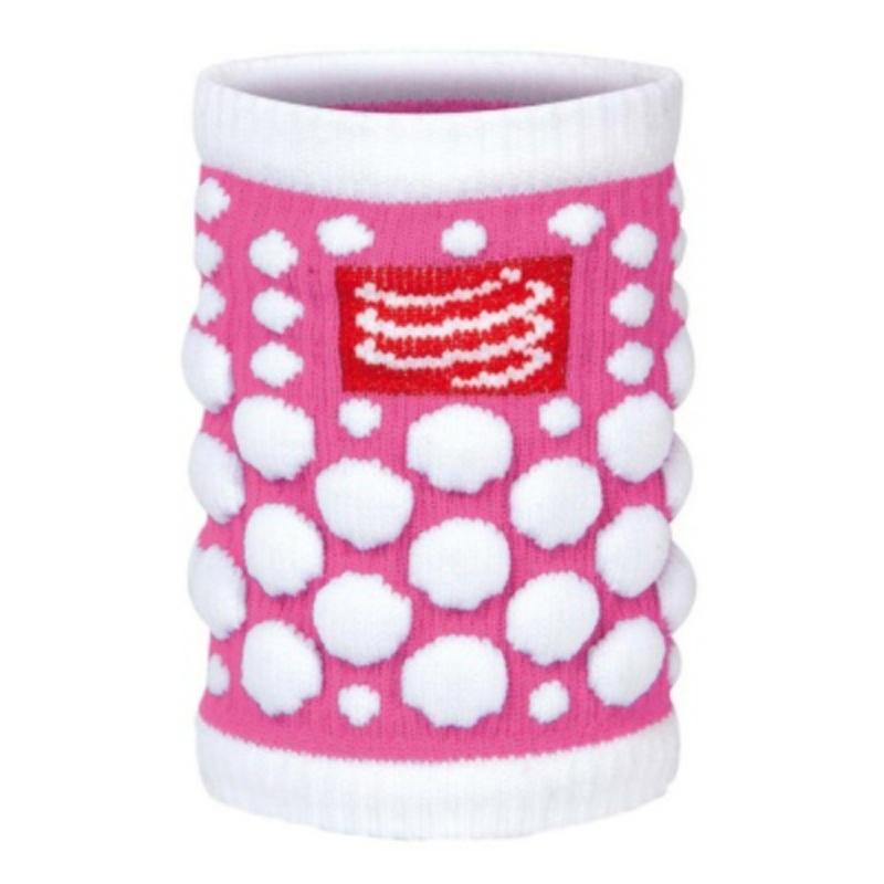COMPRESSPORT 3D Dot Sweat Band FLUO Pink