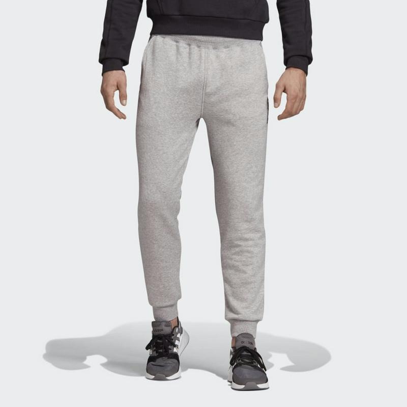 Adidas Brilliant Basics Track Pants EI4620 Medium Grey Heather