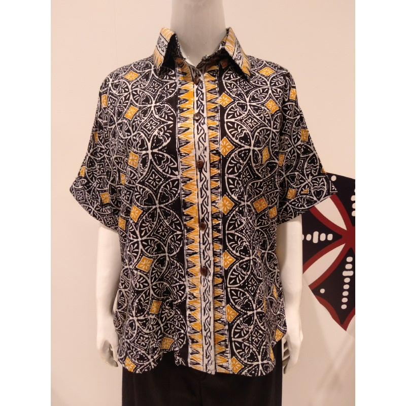 Astari Batik Shirt Black