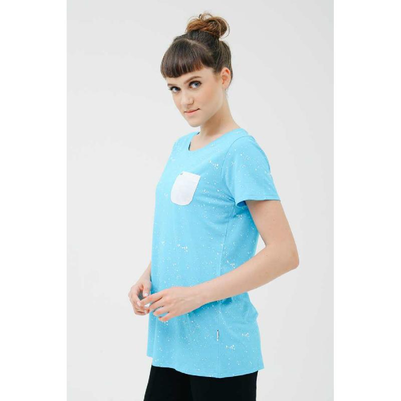 3Second Women Tshirt T0101.Lightblue