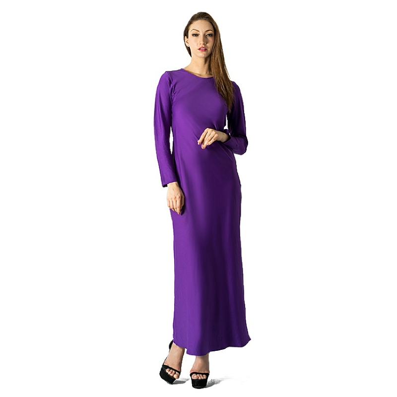Raden Sirait Dalaman Gamis Bright Purple