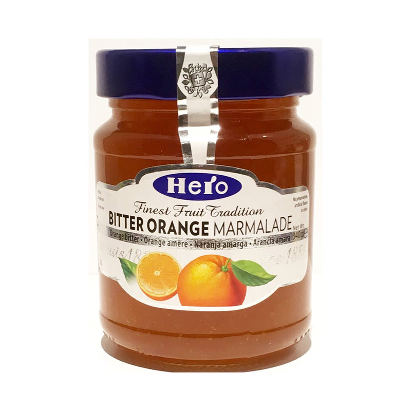 Hero Orange Marmalade Jams 340 Gr