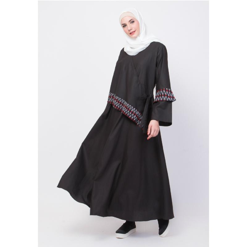 ALLEV Wardah Dress Hitam