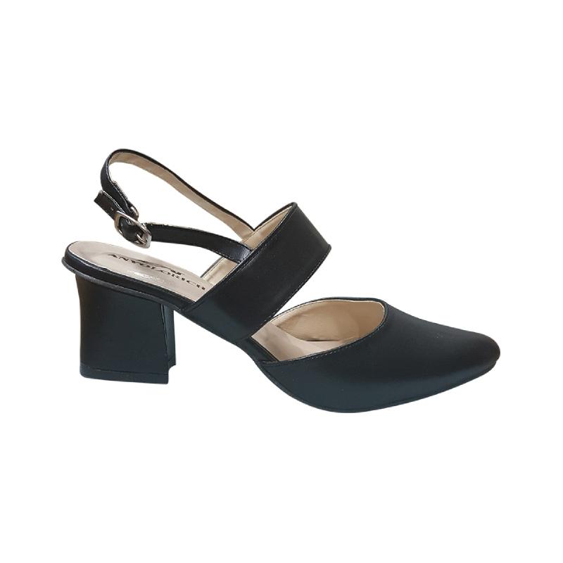 Anyolorich Heels ZA11 Black