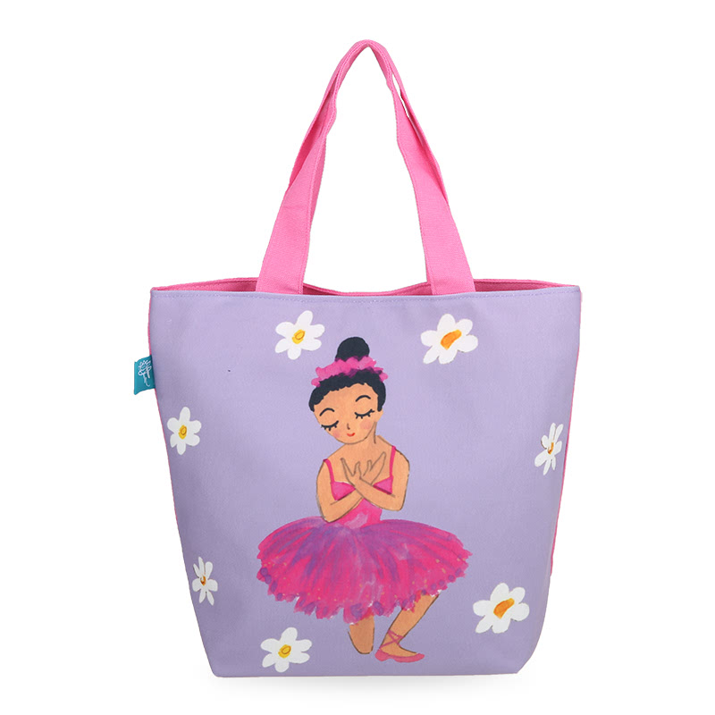 Kamalika Art Prints Tote Bag LBB-BalerinaUngu