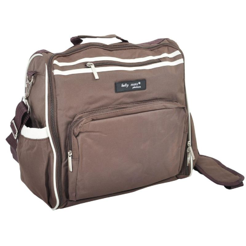 Baby Scots PlatinumScots Mommy Bag 038MB038 Cokelat