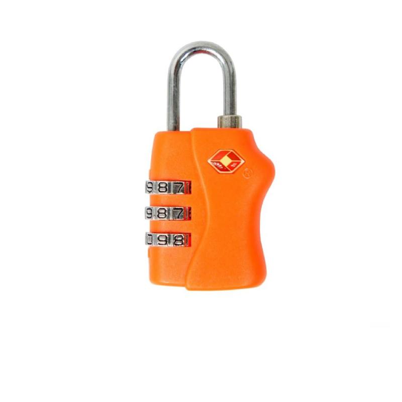 Traveltime Combination Lock TSA 338 Orange