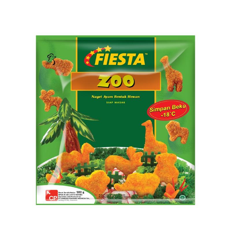 Fiesta Nugget Zoo 500G