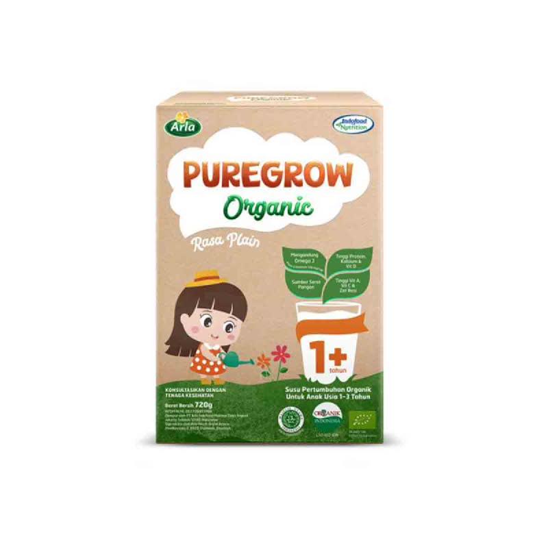 Arla Susu Bubuk Puregrow Girl 1+ 720 Gr