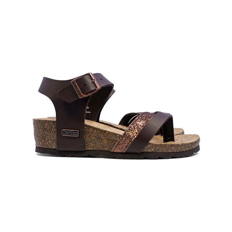 Cortica Yeo Sandals CW - 4006 Dark Brown