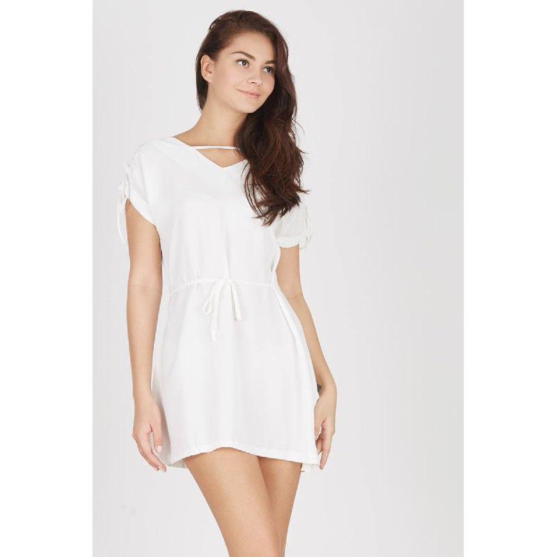 Francois Oranien Dress in White