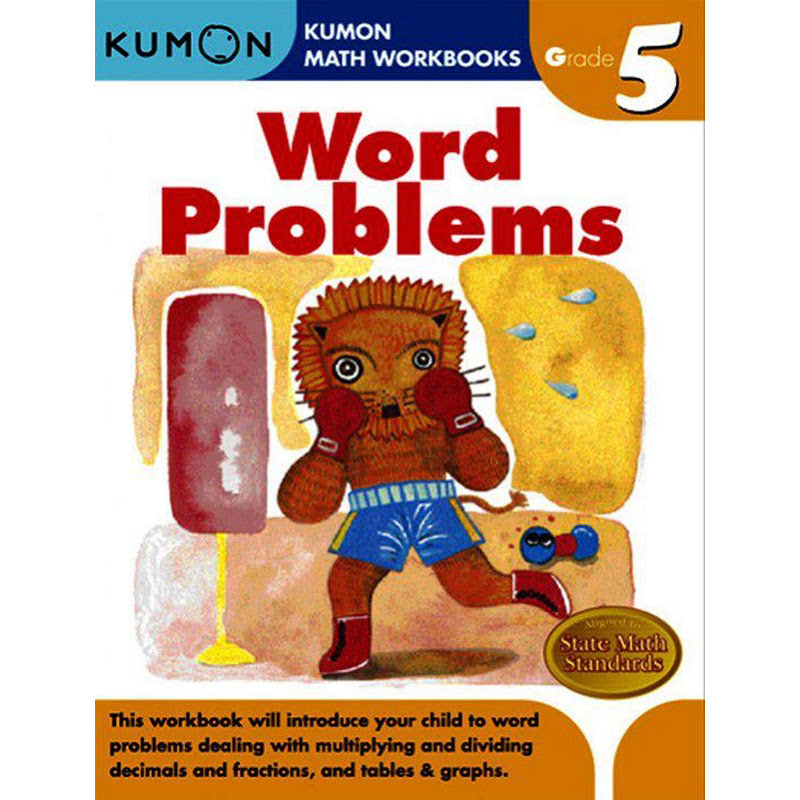 Kumon Grade 5 Word Problems