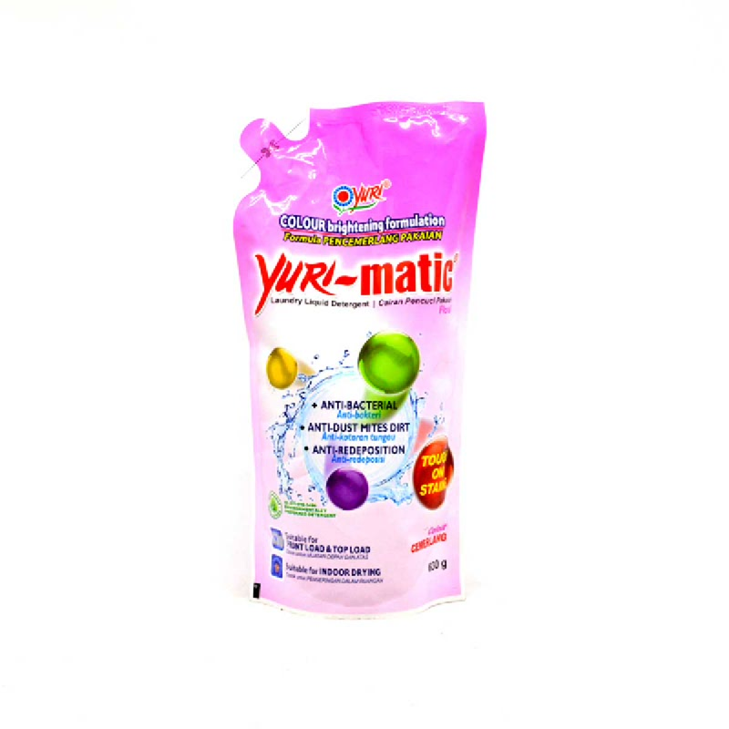 Yurimatic Floral Pouch 630 Ml