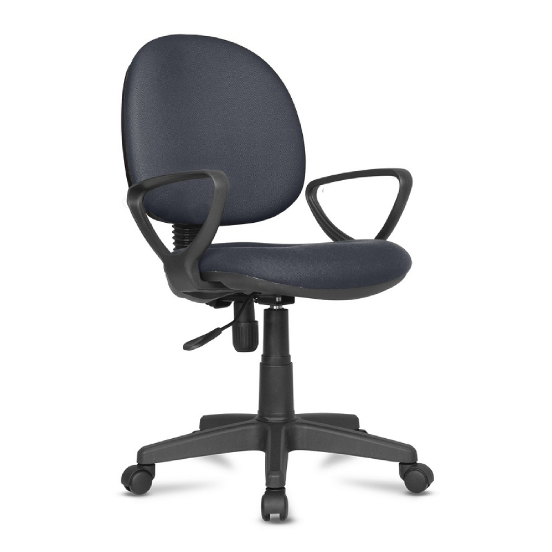 Kursi kerja kursi kantor BK Series - BK24 Silent Gray