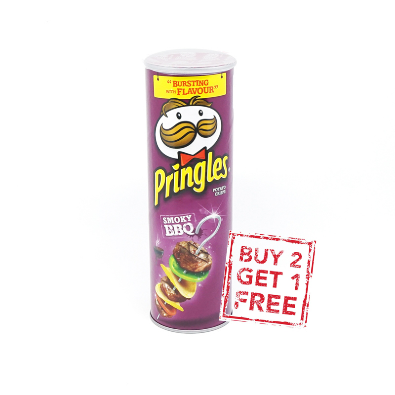 Pringles Barbeque 110G (Buy 2 Get 1)