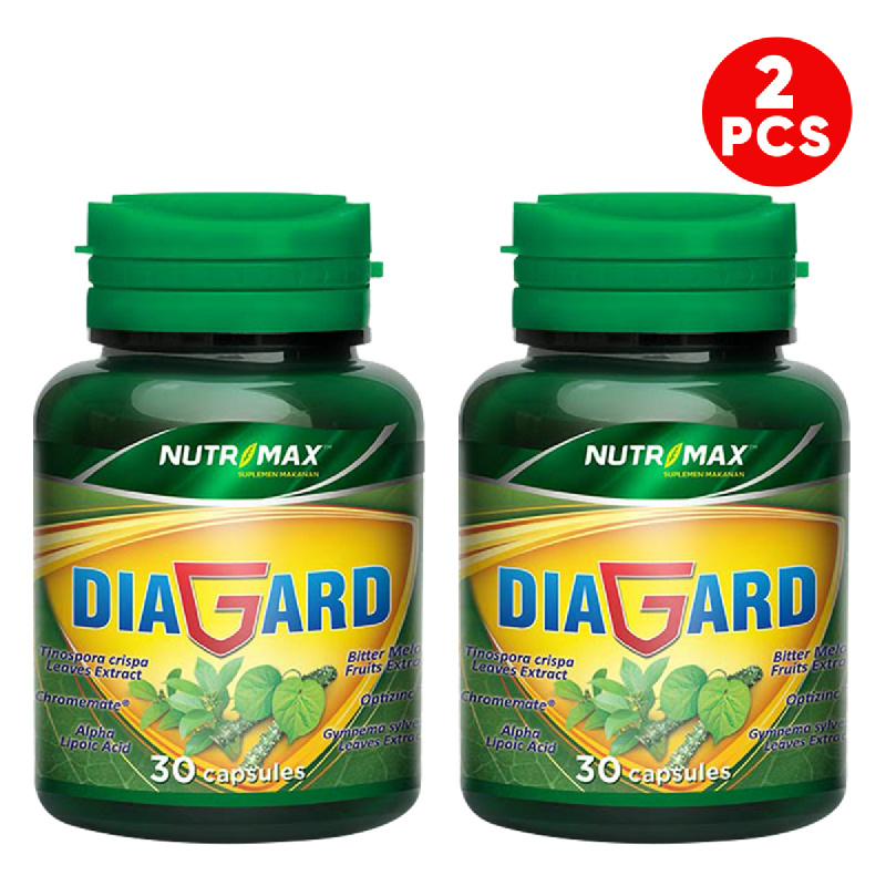 Buy 2 Bottle Nutrimax Diagard 30 Naturecaps