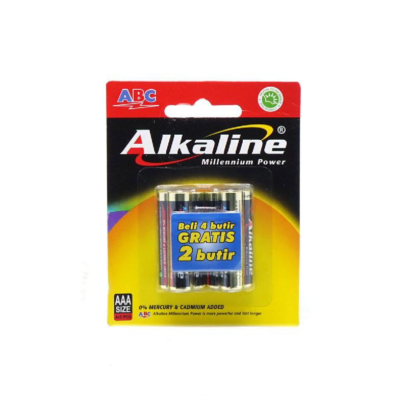 Abc Battery Alk Aaa Lr-03 4B Mp