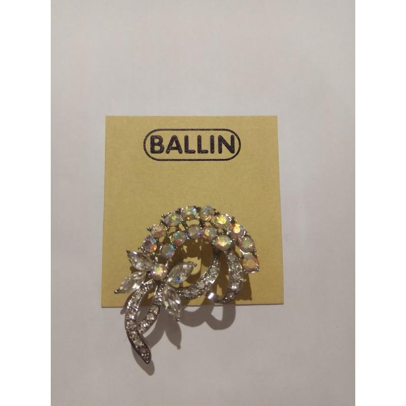 Ballin Women Brooch CB-BR13973S Silver