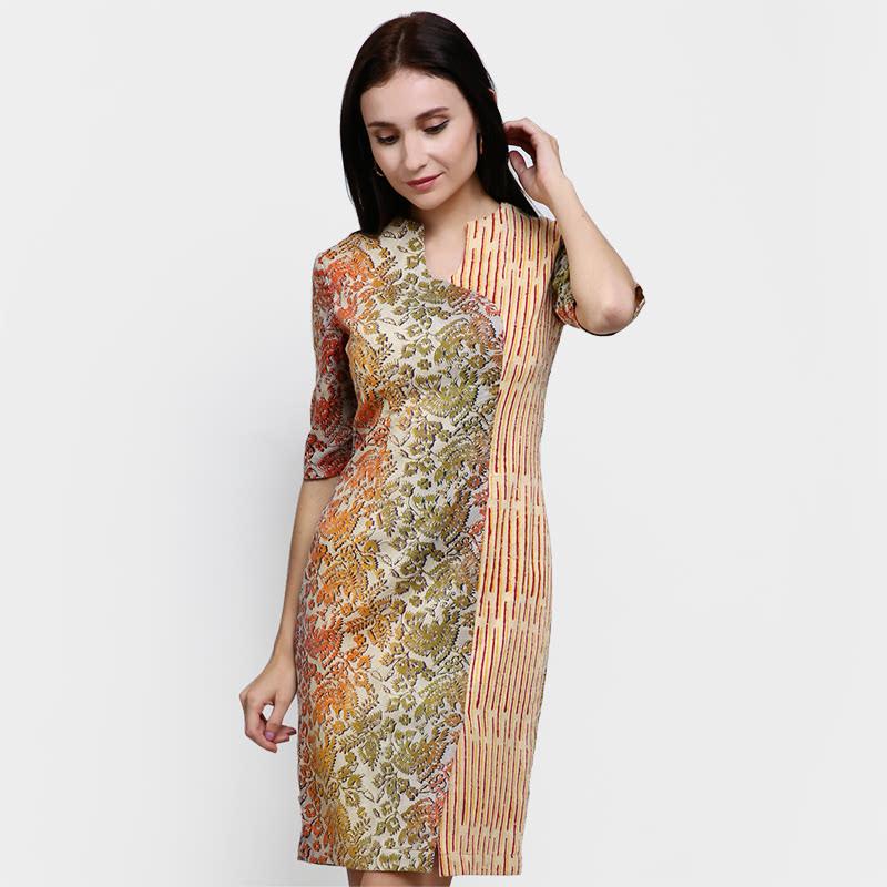 Alleira Batik Dress Batik Jaguard Cream