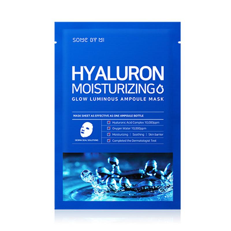 Some By Mi Glow Luminous Ampoule Mask - Hyaluron