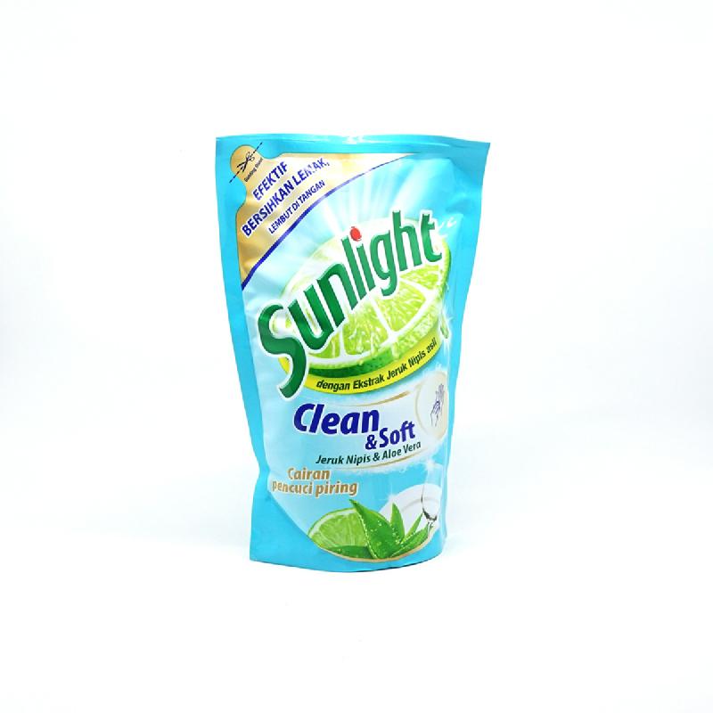 Sunlight Dishwash Clean&Soft Pouch 800Ml